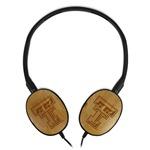 Texas Tech Red Raiders Bamboo Headphones