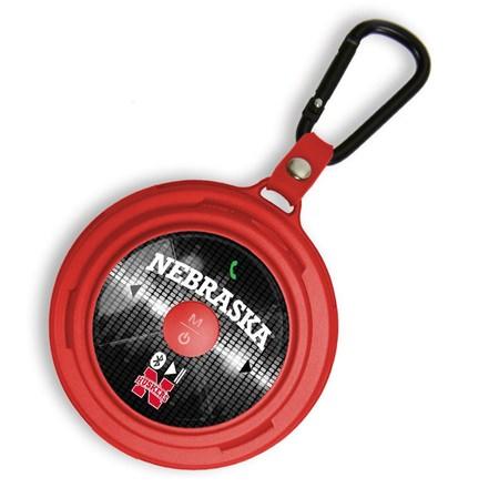 Nebraska Cornhuskers LX-100 Tracker Bluetooth Speaker