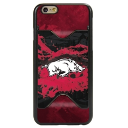 Guard Dog Arkansas Razorbacks Credit Card Phone Case for iPhone 6 / 6s