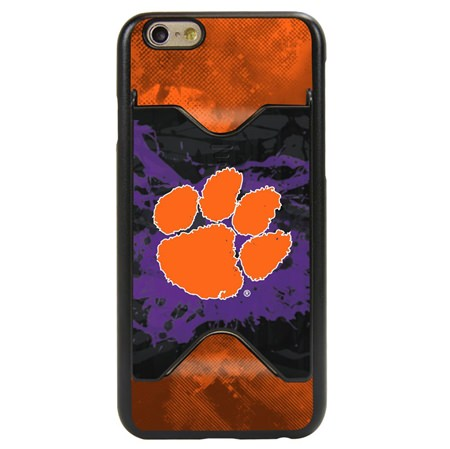 Clemson Tigers Credit Card Case for iPhone 6 / 6s