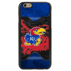 Guard Dog Kansas Jayhawks Credit Card Phone Case for iPhone 6 / 6s
