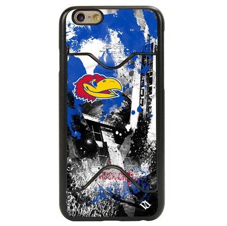 Guard Dog Kansas Jayhawks PD Spirit Credit Card Phone Case for iPhone 6 / 6s