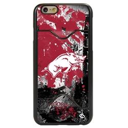 Guard Dog Arkansas Razorbacks PD Spirit Credit Card Phone Case for iPhone 6 / 6s