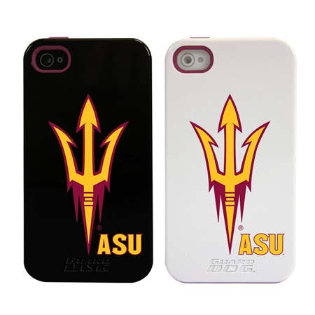 Arizona State Sun Devils Guard Dog®  Hybrid Case for iPhone 4 / 4s