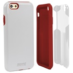 Guard Dog®  Hybrid Case for iPhone 6 / 6s - White with Guard Glass Screen Protector