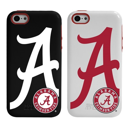 Alabama Crimson Tide Guard Dog® Hybrid Case for iPhone 5c