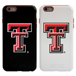 Guard Dog Texas Tech Red Raiders Hybrid Phone Case for iPhone 6 Plus / 6s Plus with Guard Glass Screen Protector