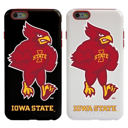Guard Dog Iowa State Cyclones Hybrid Phone Case for iPhone 6 Plus / 6s Plus with Guard Glass Screen Protector