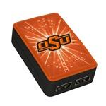 Oklahoma State Cowboys WP-200X Dual-Port USB Wall Charger