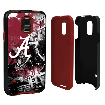 Alabama Crimson Tide PD Spirit Hybrid Case for Samsung Galaxy S5