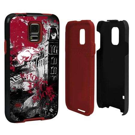 Arkansas Razorbacks PD Spirit Hybrid Case for Samsung Galaxy S5