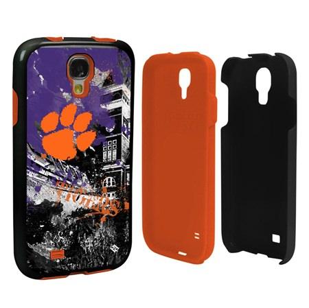 Clemson Tigers PD Spirit Hybrid Case for Samsung Galaxy S4