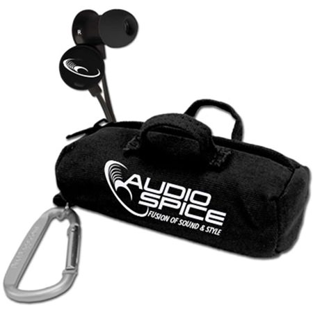 AudioSpice Scorch Earbuds with BudBag