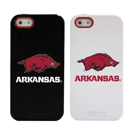 Arkansas Razorbacks Guard Dog® Hybrid Case for iPhone 5 / 5s / SE