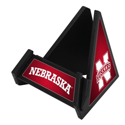 Nebraska Cornhuskers Pyramid Phone & Tablet Stand