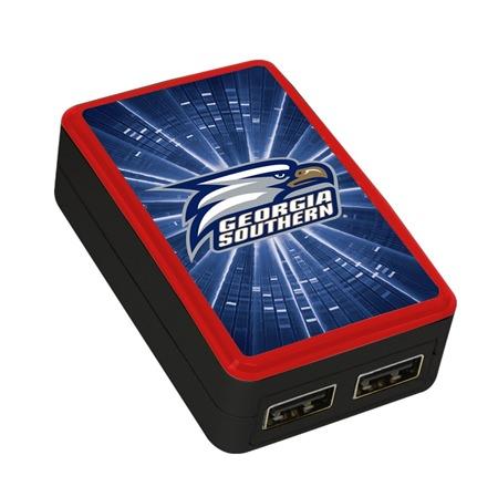 Georgia Southern Eagles WP-200X Dual-Port USB Wall Charger