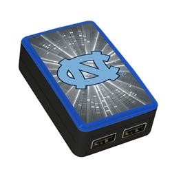 North Carolina Tar Heels WP-200X Dual-Port USB Wall Charger
