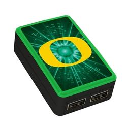 Oregon Ducks WP-200X Dual-Port USB Wall Charger