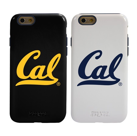 Guard Dog Cal Berkeley Golden Bears Hybrid Phone Case for iPhone 6 / 6s with Guard Glass Screen Protector