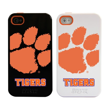 Clemson Tigers Guard Dog®  Hybrid Case for iPhone 4 / 4s