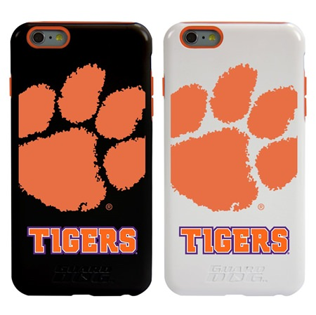 Clemson Tigers Guard Dog®  Hybrid Case for iPhone 6 Plus / 6s Plus with Guard Glass Screen Protector