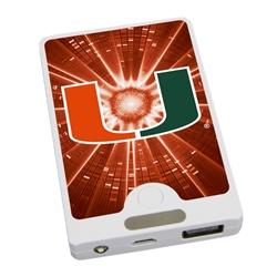 U Miami Hurricanes APU 4000LX USB Mobile Charger