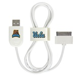 UCLA Bruins 30-Pin USB Cable with QuikClip