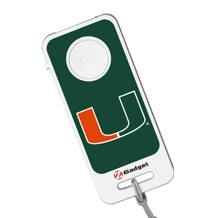 U Miami Hurricanes Bluetooth® Selfie Remote