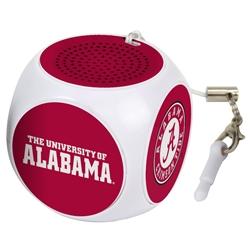 Alabama Crimson Tide MX-100 Cubio Mini Bluetooth® Speaker Plus Selfie Remote