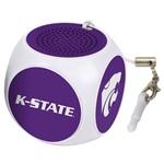Kansas State Wildcats MX-100 Cubio Mini Bluetooth® Speaker Plus Selfie Remote
