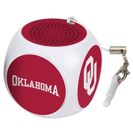 Oklahoma Sooners MX-100 Cubio Mini Bluetooth® Speaker Plus Selfie Remote