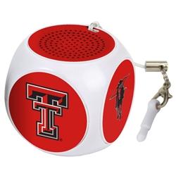 Texas Tech Red Raiders MX-100 Cubio Mini Bluetooth® Speaker Plus Selfie Remote