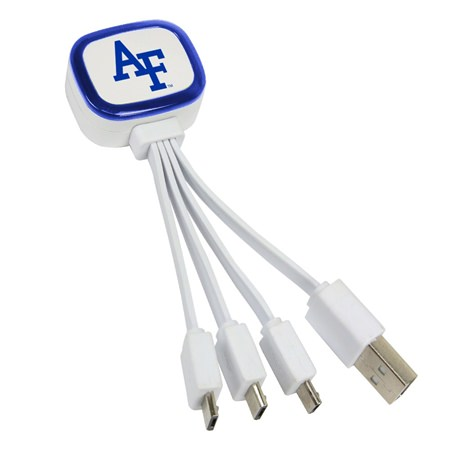 Air Force Falcons Tri-Charge USB Cable