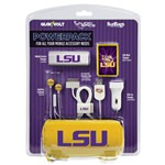 LSU Tigers Mobile Accessory PowerPack with 30-Pin USB Cable