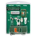 U Miami Hurricanes Mobile Accessory PowerPack with 30-Pin USB Cable