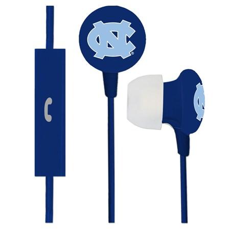 North Carolina Tar Heels Ignition Earbuds + Mic