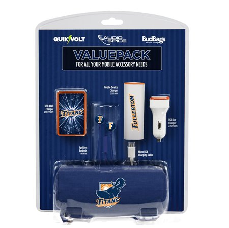 Cal State Fullerton Titans Mobile Accessory ValuePack