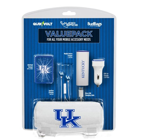 Kentucky Wildcats Mobile Accessory ValuePack