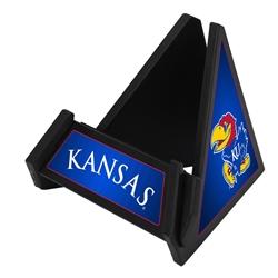 Kansas Jayhawks Pyramid Phone & Tablet Stand