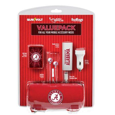Alabama Crimson Tide Mobile Accessory ValuePack