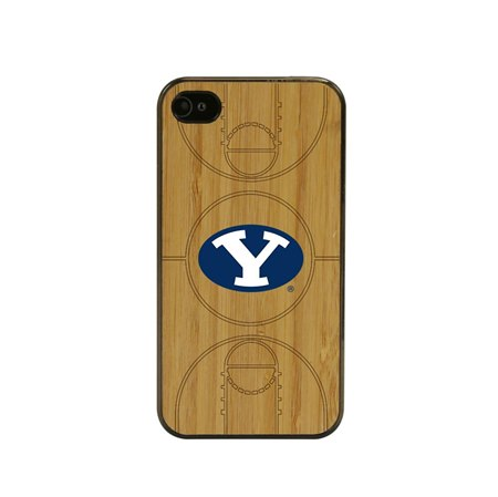 BYU Cougars Eco Light Court Case for iPhone 4 / 4s