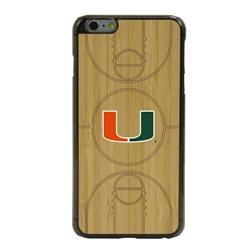 Guard Dog U Miami Hurricanes Eco Light Court Phone Case for iPhone 6 Plus / 6s Plus
