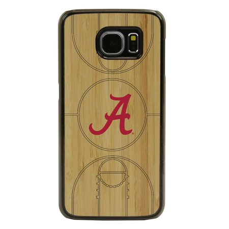 Alabama Crimson Tide Eco Light Court Case for Samsung Galaxy S6 with Guard Glass Screen Protector
