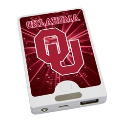 Oklahoma Sooners APU 4000LX USB Mobile Charger