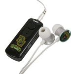 Baylor Bears HR-100 Bluetooth® Receiver with BudBag & Earbuds