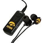 Iowa Hawkeyes HR-100 Bluetooth® Receiver with BudBag & Earbuds