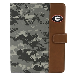 Georgia Bulldogs Camo Folio Case for iPad 2 / 3