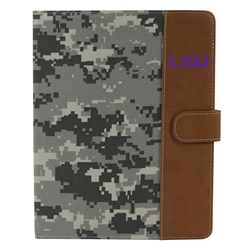 LSU Tigers Camo Folio Case for iPad 2 / 3