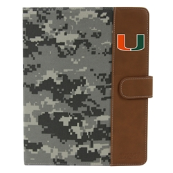 U Miami Hurricanes Camo Folio Case for iPad 2 / 3