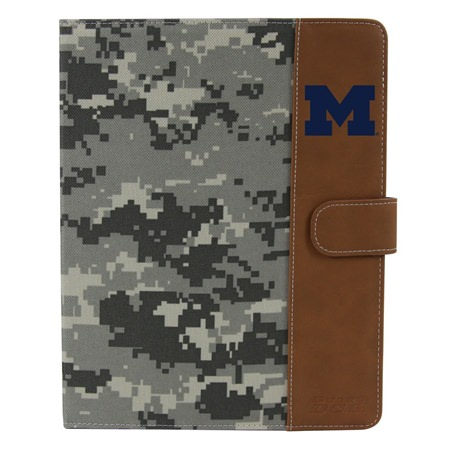 Michigan Wolverines Camo Folio Case for iPad 2 / 3